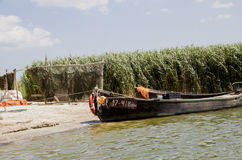 Fishermans camp. Delta of Danube. Royalty Free Stock Photography
