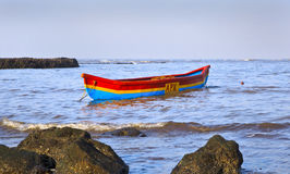 Fishermans canoe Manori Bel Royalty Free Stock Photo