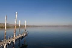 Fishermans en el mar de Galilee Foto de archivo libre de regalías