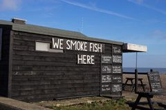 Fishermans Hut, Aldeburgh Royalty Free Stock Photo
