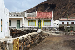 Fishermans hut in Cape Verde Stock Image
