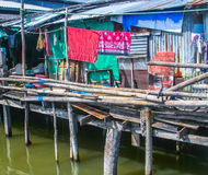 Fishermans hut in Koh Samet on Royalty Free Stock Images