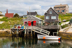 Fishermans Hut Peggys Cove Stock Photography