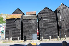 Fishermans Huts Stock Images