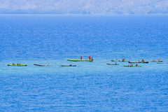 Fishermans.(Lamalera,Indonesia) Stock Photography