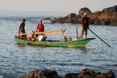 Fishermans (Lamalera, Indonesien) arkivbild