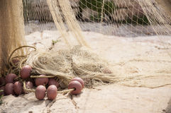 Fishermans net Royalty Free Stock Photography