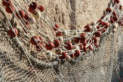 Fishermans-Netz Stockfotos