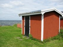 Fishermans recovery in sweden royalty free stock photography