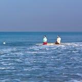 fishermans sieci Obraz Royalty Free