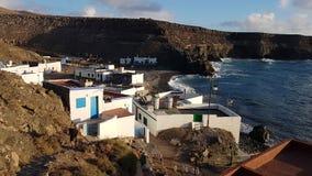 Fuerteventura fishermans village Royalty Free Stock Images