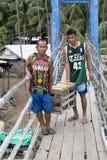 Fishermans village Royalty Free Stock Image