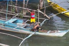 Fishermans village Stock Images
