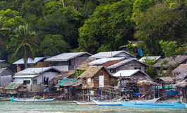 Fishermans village Royalty Free Stock Photo