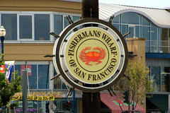 Fishermans Wharf Stock Image
