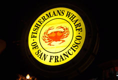 Fishermans Wharf San Francisco stock photography