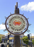 Fishermans Wharf, in San Francisco, California Royalty Free Stock Images