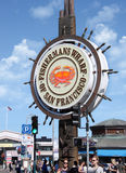 Fishermans wharf in San Francisco Stock Image
