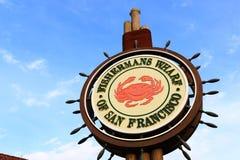 Fishermans Wharf Sign Stock Photo