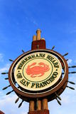 Fishermans Wharf Sign Royalty Free Stock Images