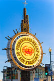 Fishermans Wharf sign in San Francisco Stock Image