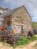 Fishermanshut Royalty-vrije Stock Foto's