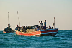 Fishermen Royalty Free Stock Image