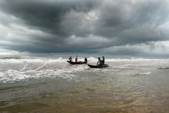 The Fishermen Royalty Free Stock Photography