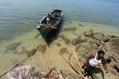 Fishermen of Andamans Stock Photos