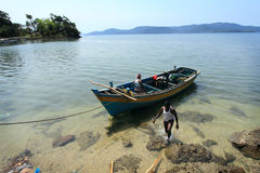 Fishermen of Andamans Royalty Free Stock Photo