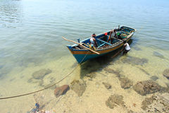 Fishermen of Andamans Stock Photo