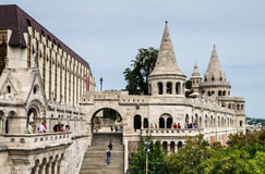 Fishermen Bastion, Budapest, Hungary Royalty Free Stock Photos