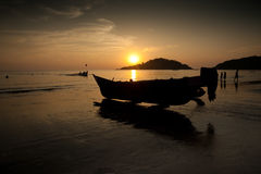 Fishermen boat Royalty Free Stock Image