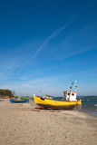 Fishermen boat Stock Photography