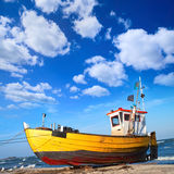 Fishermen boat Stock Photos