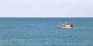 Fishermen boat Royalty Free Stock Photography
