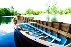 Fishermen boat stock photo