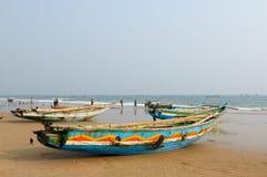 Fishermen boats Royalty Free Stock Photo