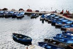 Fishermen boats Stock Photography