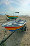 Fishermen boats Royalty Free Stock Photo