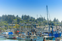 Fishermen boats Royalty Free Stock Image