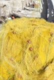 Fishermen casting nets Stock Image