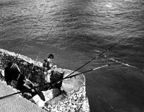 Fishermen Royalty Free Stock Photography