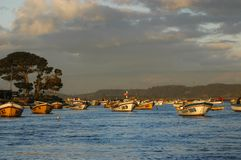 Fishermen cove Royalty Free Stock Image