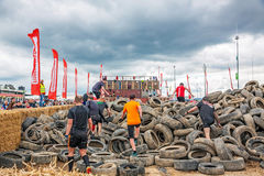Fishermen Friends Strongman Run, Nurburgring, Germany Royalty Free Stock Photos