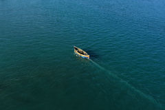 Fishermen Go For Fishing Stock Photography
