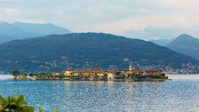 Fishermen Island and Lake Maggiore Royalty Free Stock Photography