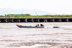 Fishermen Life for background. Transportation emotion time Royalty Free Stock Photo