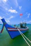 Fishermen living in the sea Stock Photos