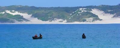 Fishermen in Madagascar Stock Image